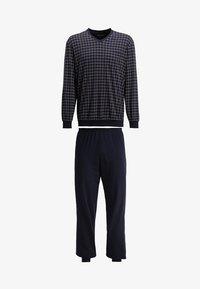 Schiesser - SET - Pyjama set - dunkelblau - 6