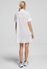 KARL LAGERFELD - Shirt dress - white - 2