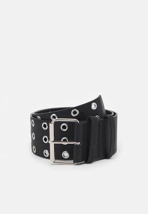 PCKILA WAIST BELT - Waist belt - black/silver