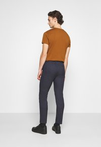 Calvin Klein Tailored - STRETCH PANTS - Trousers - blue - 2