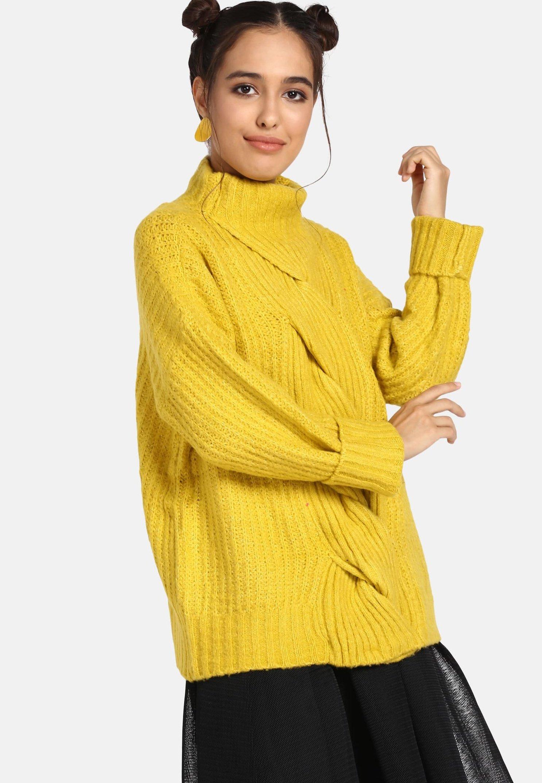 Online Women's Clothing myMo Jumper yellow 2n6MDRSxs