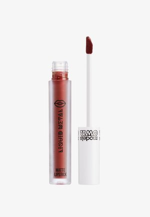 METALLIC LIP GLOSS - Lip gloss - red violet