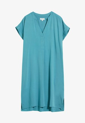 Day dress - teal blue