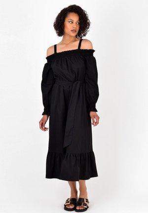 BARDOT TIERED  - Day dress - black