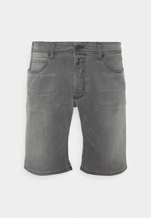 Denim shorts - medium grey