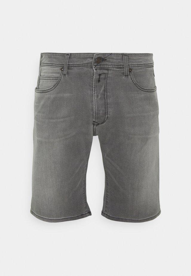 Jeansshort - medium grey