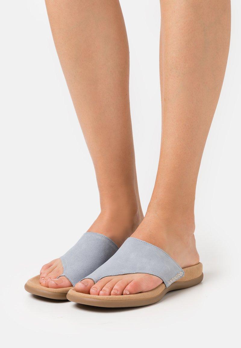 Gabor - Sandalias de dedo - aquamarin