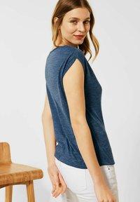 Street One - IM LEINEN LOOK - Basic T-shirt - blau - 1