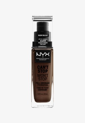 CAN'T STOP WON'T STOP FOUNDATION - Foundation - 22.5 warm walnut