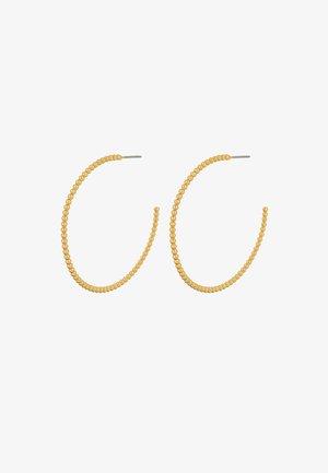 BUBBLE HOOP - Earrings - gold plating