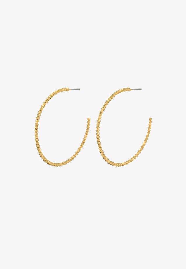 BUBBLE HOOP - Oorbellen - gold plating