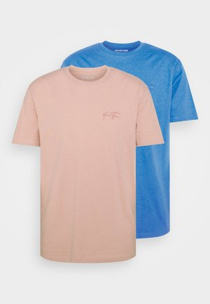 UNISEX 2 PACK - T-shirt - bas - pink/blue