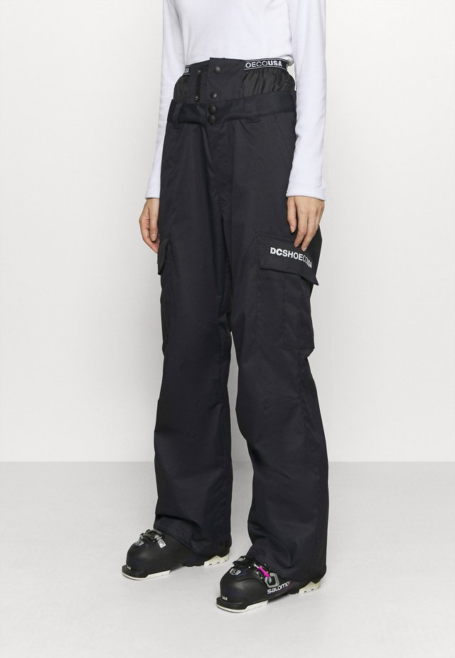IDENTITY PANT - Snow pants - black