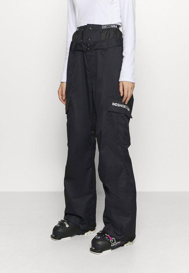 IDENTITY PANT - Skibukser - black
