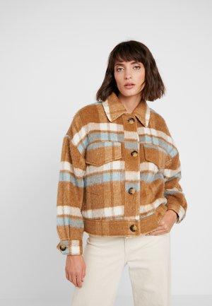 ROSEMARY JACKET - Light jacket - brown sugar