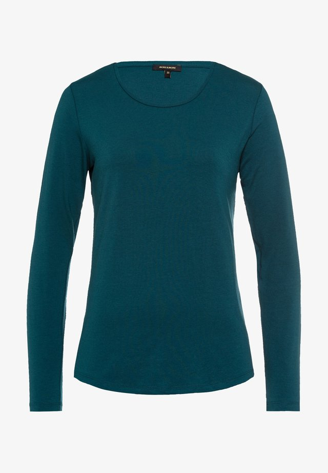 Long sleeved top - petrol