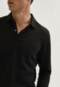 Massimo Dutti - Polo shirt - black - 2