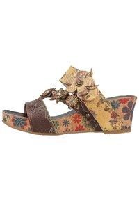 LAURA VITA - Sandály na vysokém podpatku - multi - 1