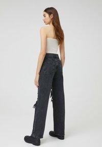 PULL&BEAR - Jeans a sigaretta - black - 2