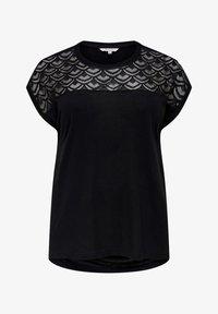ONLY Carmakoma - CARFLAKE MIX - T-shirt imprimé - black - 4