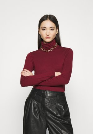 LULU - Long sleeved top - cabernet