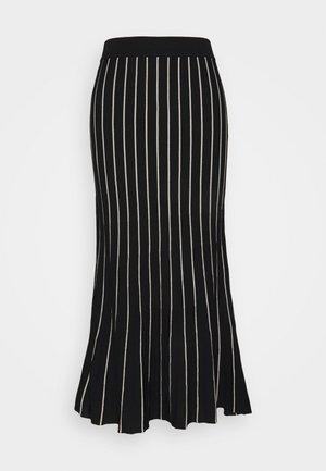 BECKY - A-line skirt - schwarz
