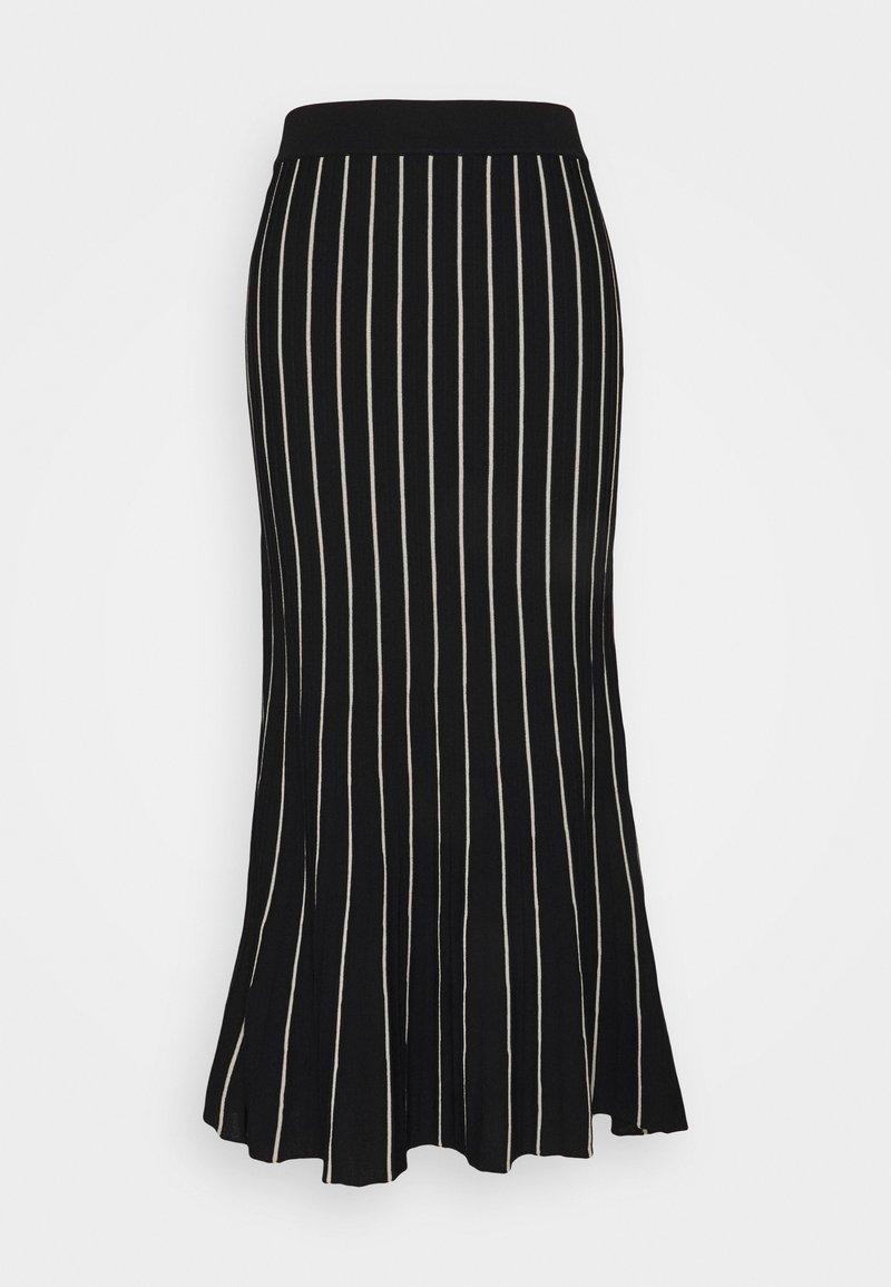 Expresso - BECKY - A-line skirt - schwarz