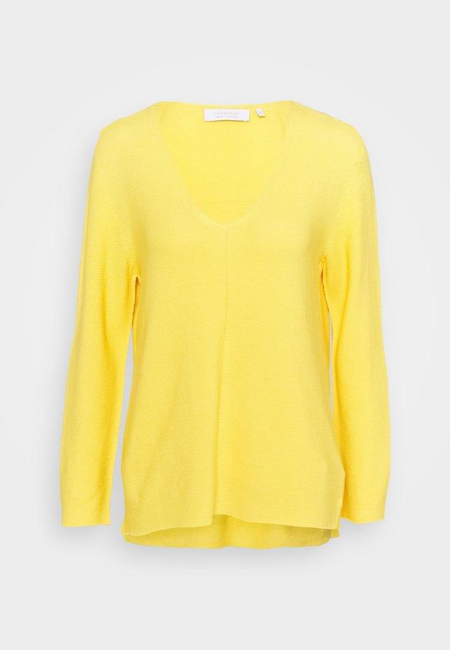 Sweter - golden yellow
