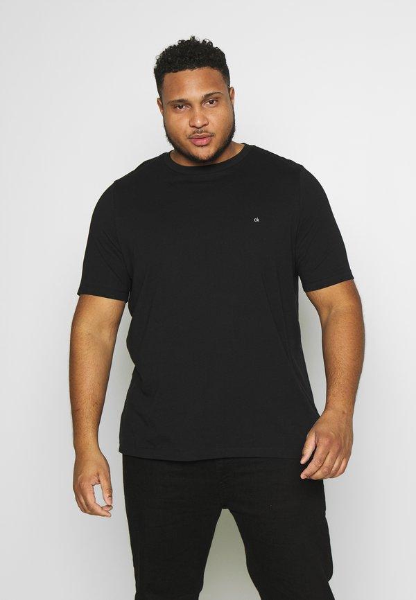 Calvin Klein LOGO 2 PACK - T-shirt basic - black/czarny Odzież Męska DHCM