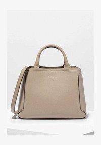 HALLE  - Handbag - clay