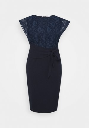 DALLAS CURVE - Jersey dress - navy