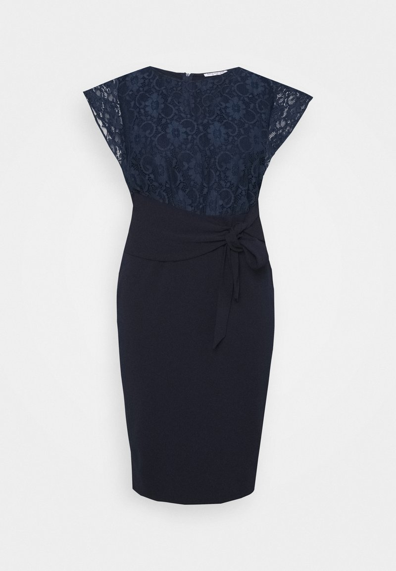 Sistaglam Curve - DALLAS CURVE - Jersey dress - navy