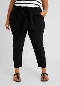 Even&Odd Curvy - Trousers - black - 0