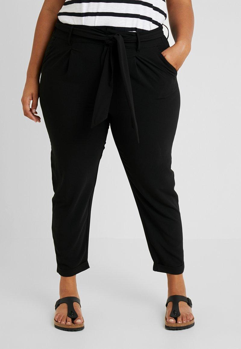 Even&Odd Curvy - Trousers - black