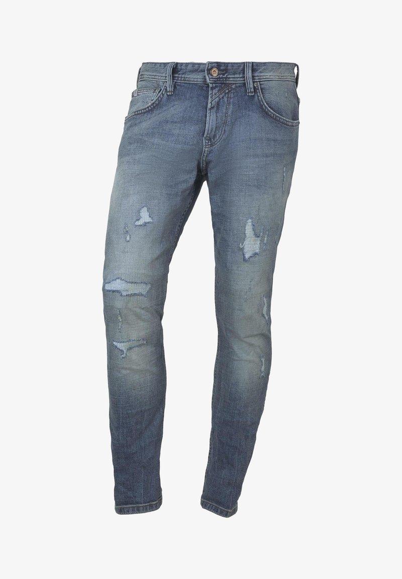 TOM TAILOR DENIM - AEDEN - Straight leg jeans - light stone blue