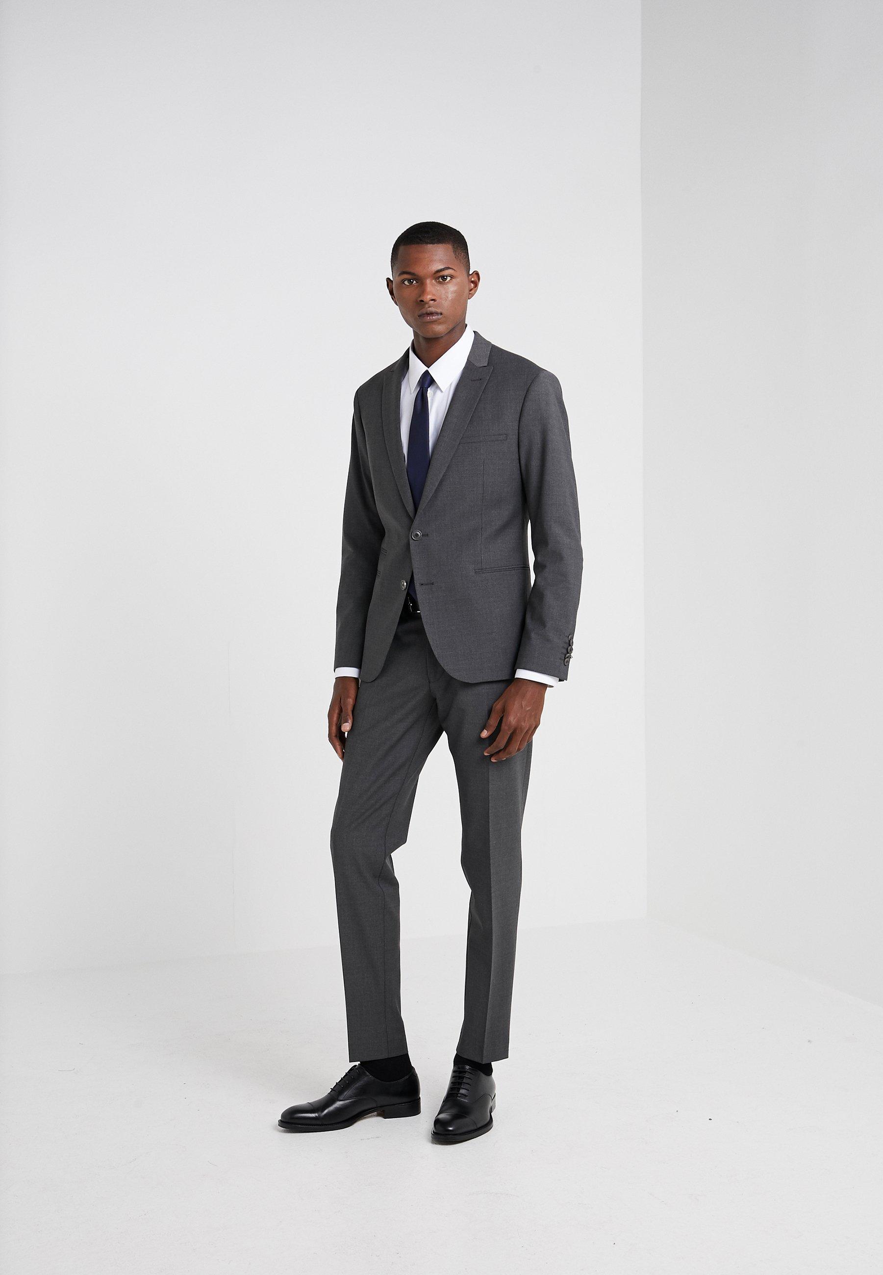 DRYKORN PIET - Pantalon de costume - grey nos