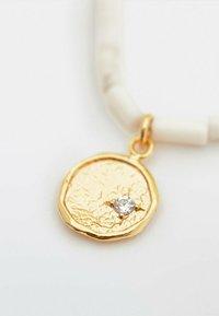 Massimo Dutti - MIT WEISSEN STEINEN  - Necklace - gold - 3