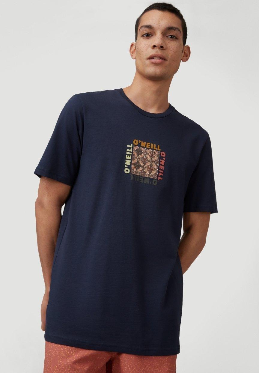Homme TEES CENTER TRIIBE T-SHIRT - T-shirt imprimé
