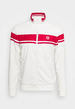 TRACKTOP YOUNGLINE - Training jacket - blanc de blanc/tango red