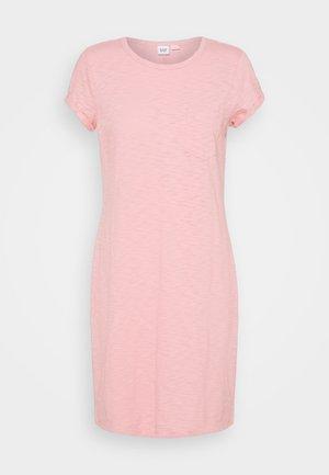 TEE DRESS - Jersey dress - belle pink