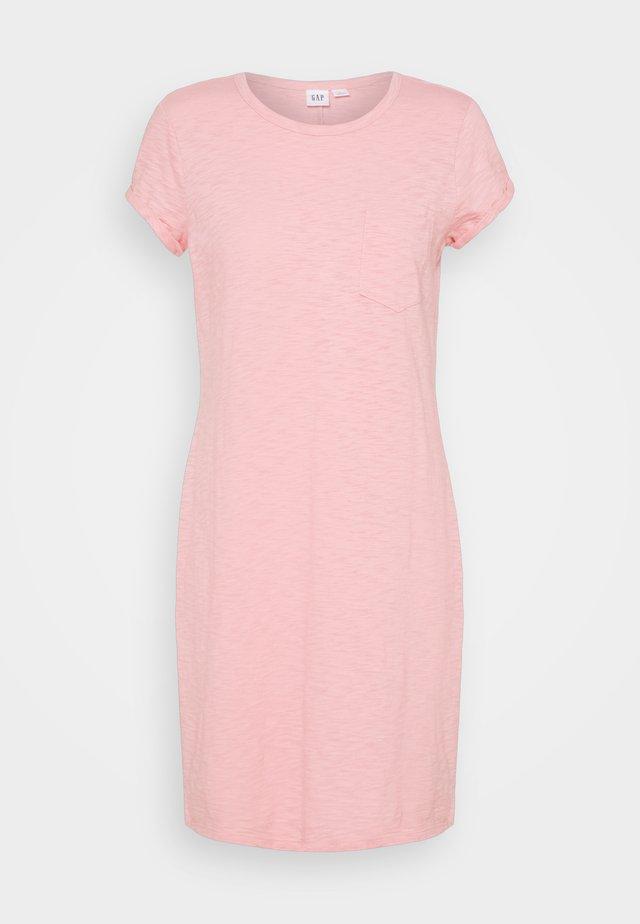 TEE DRESS - Vestido ligero - belle pink