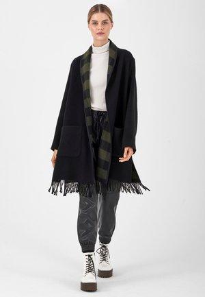 Short coat - black olive