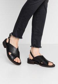 Felmini - GRACE - Sandals - ingranato black - 0