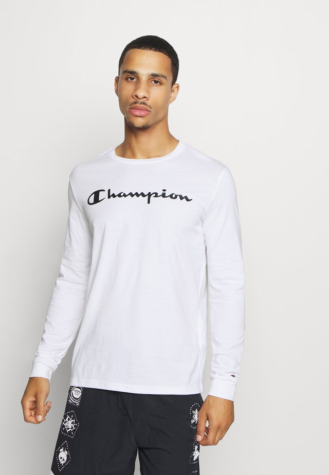 LEGACY CREWNECK LONG SLEEVE - T-shirt à manches longues - white