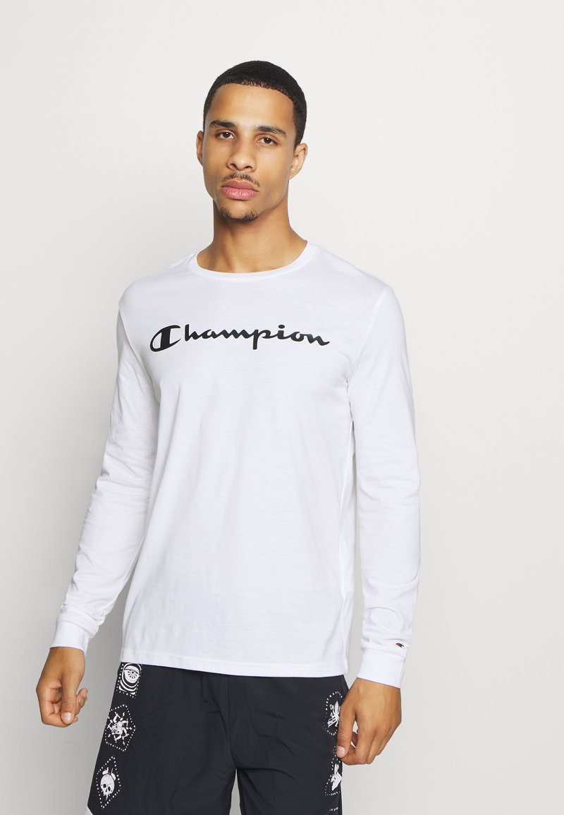 Champion - LEGACY CREWNECK LONG SLEEVE - Top s dlouhým rukávem - white