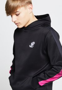 SIKSILK - LONDON JUNIORS  - Hoodie - black /pink - 3