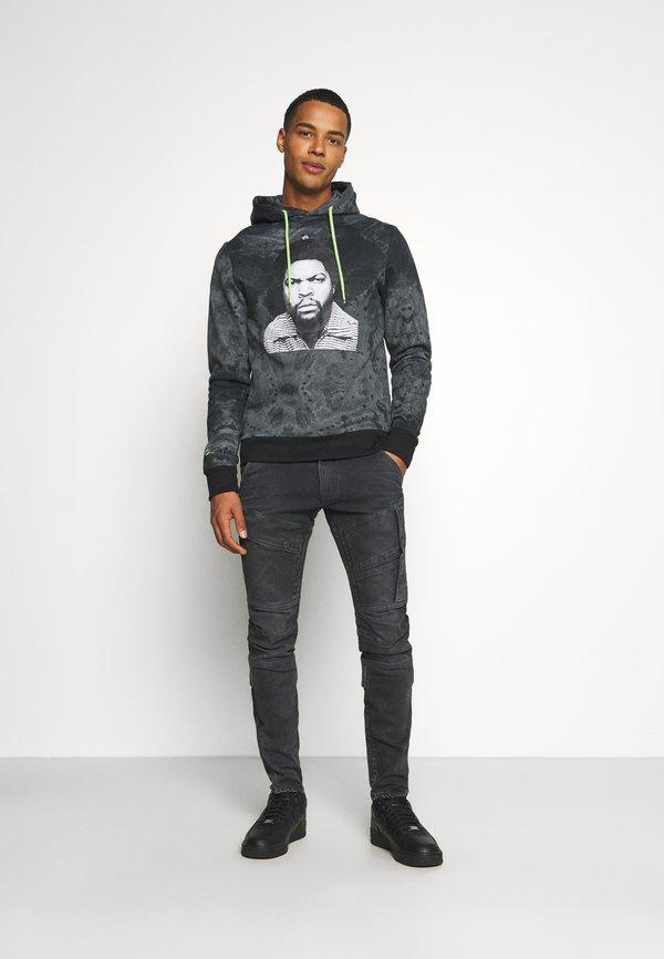 G-Star AIRBLAZE 3D SKINNY - Jeansy Slim Fit - slander black/szary denim Odzież Męska CHOG
