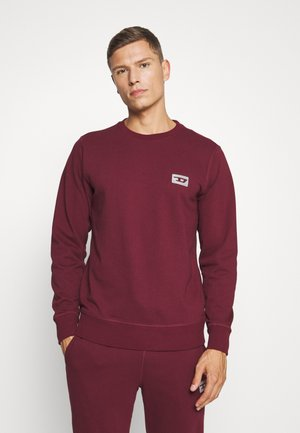 UMLT-WILLY SWEAT-SHIRT - Pyjama top - burgundy