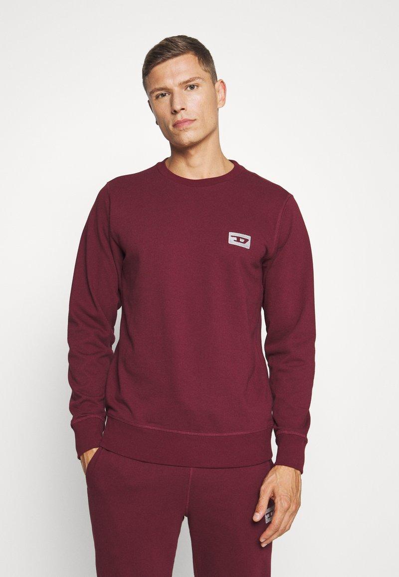 Diesel - UMLT-WILLY SWEAT-SHIRT - Pyjama top - burgundy