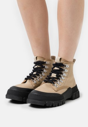 TWIG  - Lace-up ankle boots - taupe